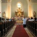Kostel uvnitř, Foto: Dagmar Sedláčková