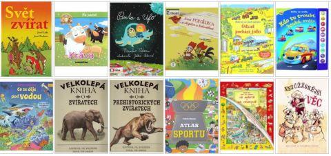 Nové knihy děti II