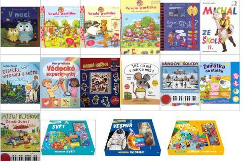 Nové knihy děti Leden 2020