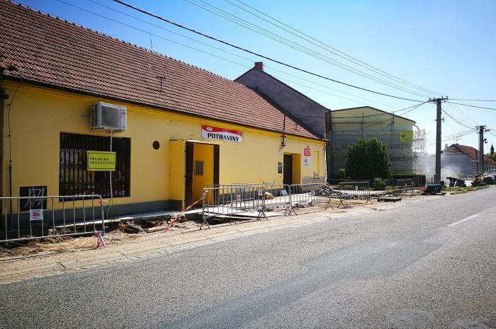 Rekonstrukce Školní a Lipová 2017 (3)