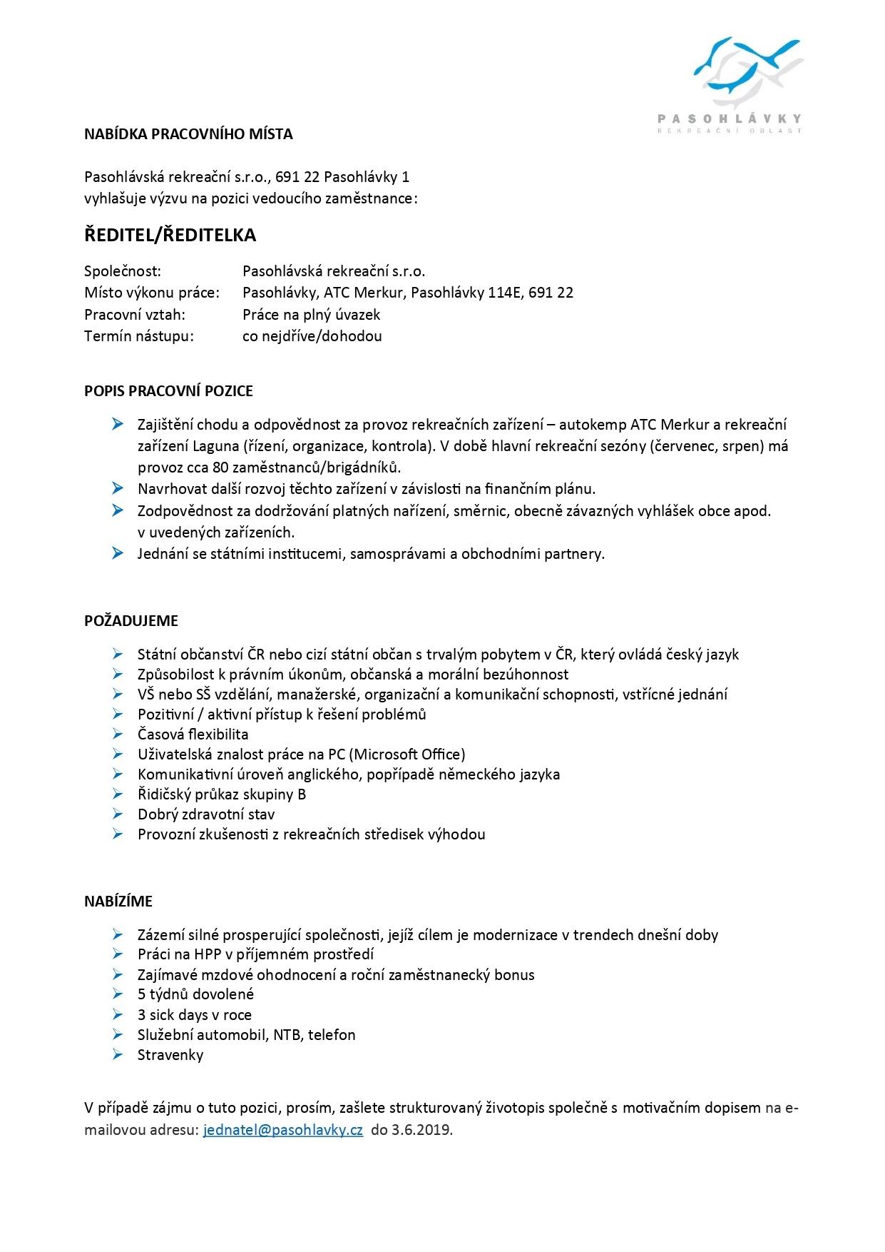 Výzva na pracovní pozici ředitel-ředitelka_page-0001
