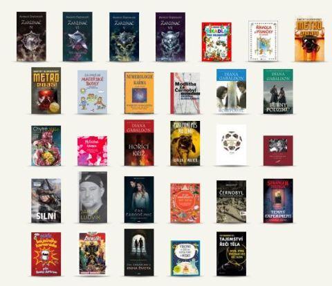 Knihy Červenec
