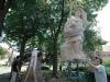 Rekonstrukce sochy sv. Floriána 2010